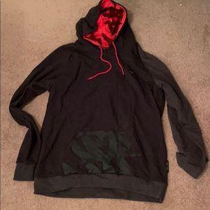 Flag nor fail hoodie size XXXL